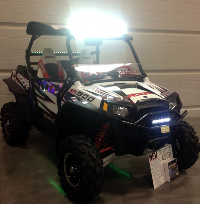 RZR Lights ON!!