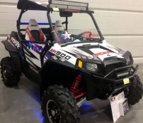 Bluhm enterprises rzr utv with xtreme off road led light bars mozeypictures Choice Image