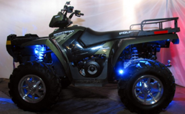 ATV with Brite Lites all around